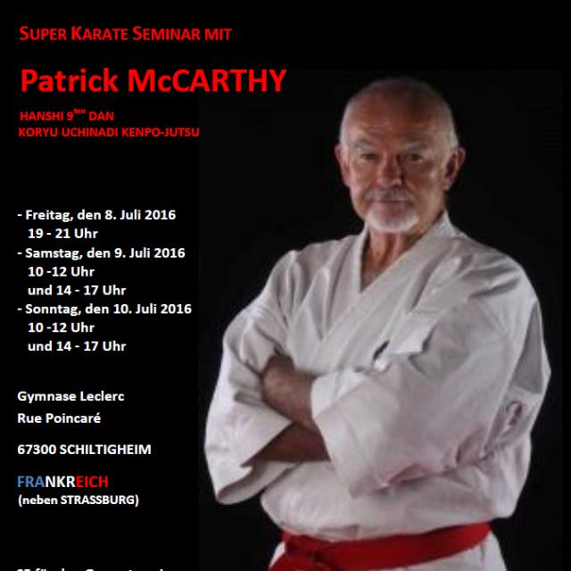 Seminar mit Patrick McCarthy