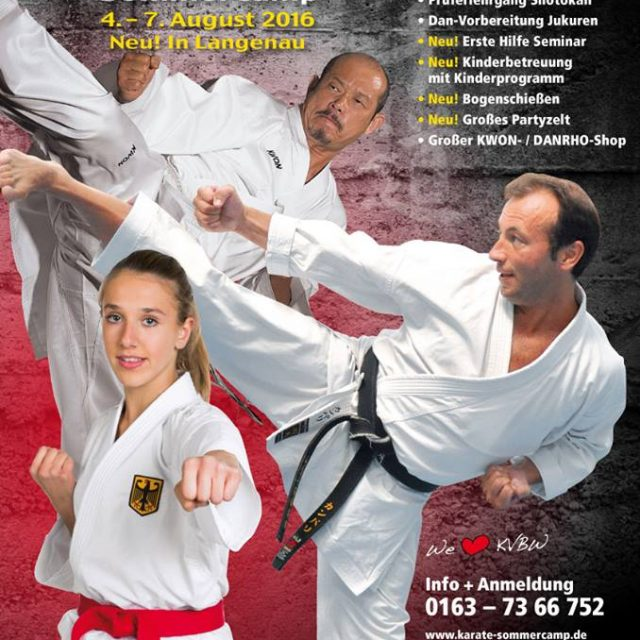 KVBW Karate Sommercamp