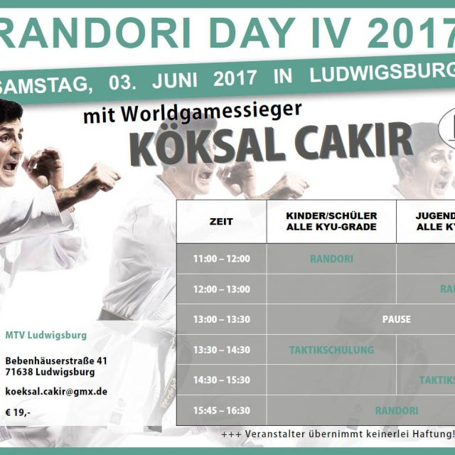 Randori Day