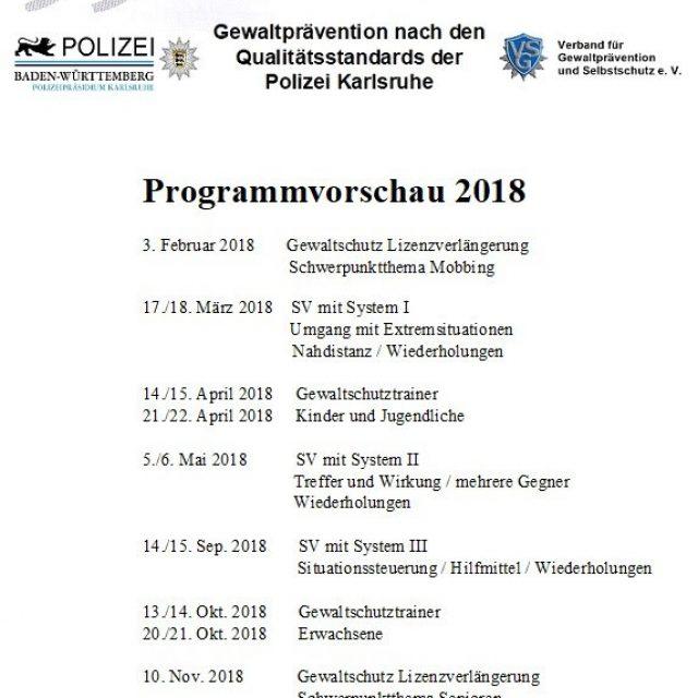 SV und SB in Bruchsal 2018