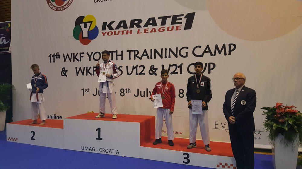 Muhammed erneut 3. bei K1 Youth League
