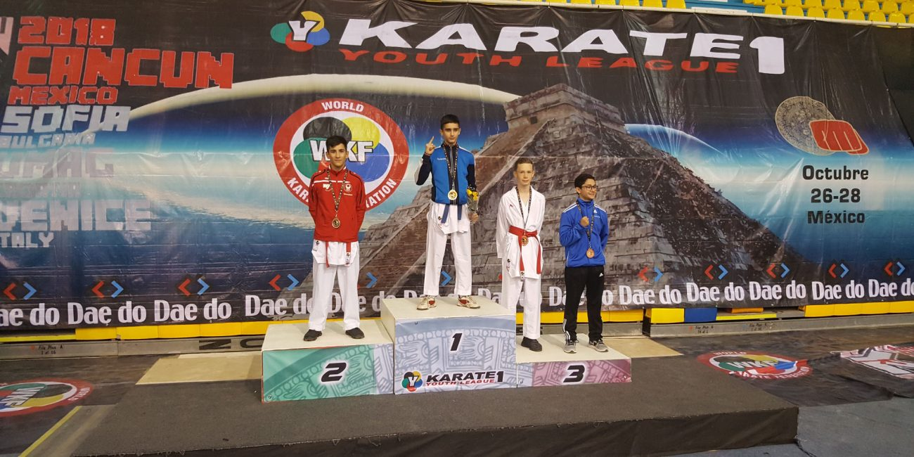WKF Karate 1 Youth League Mexiko 2018
