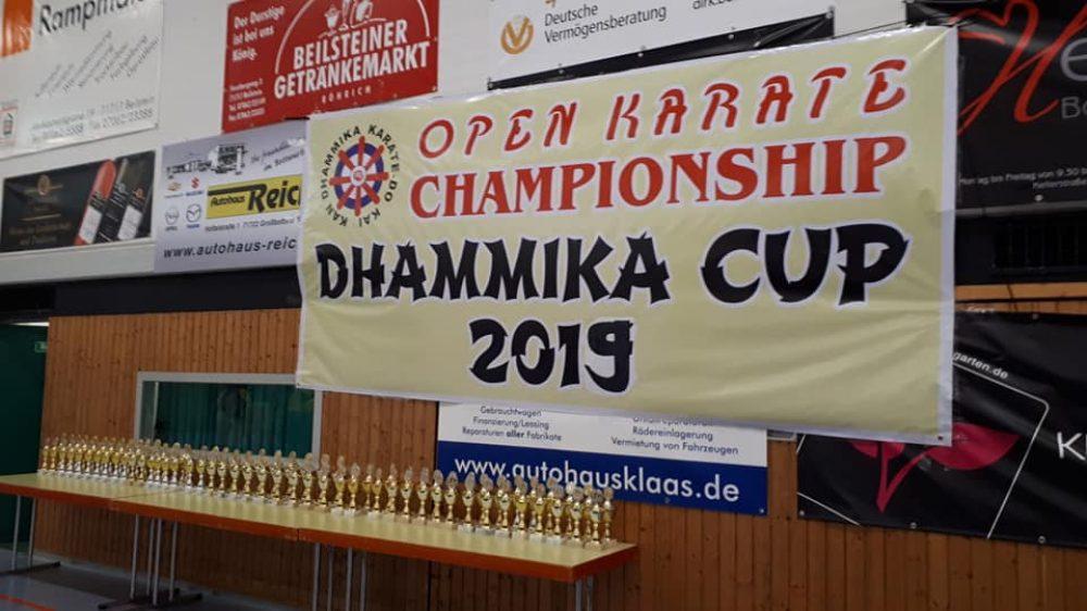 2 x Gold und 2 x Silber beim Dhammika Cup