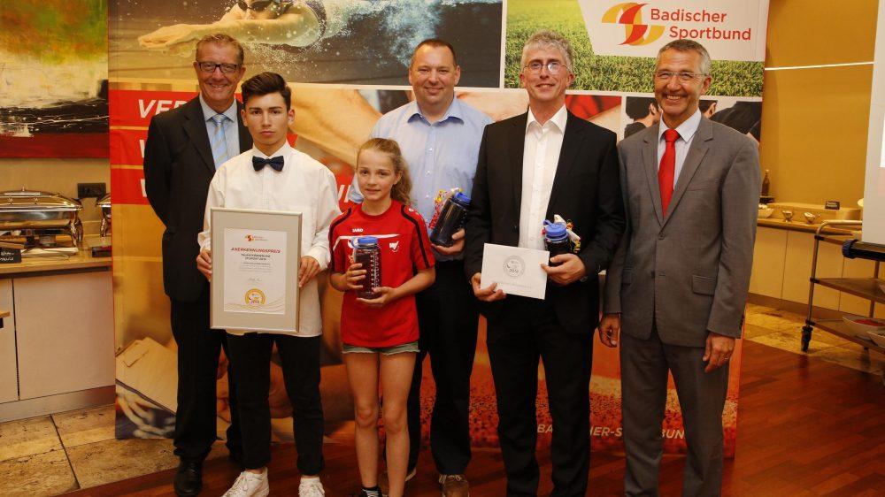 Badischer Sportbund verleiht Anerkennungspreis