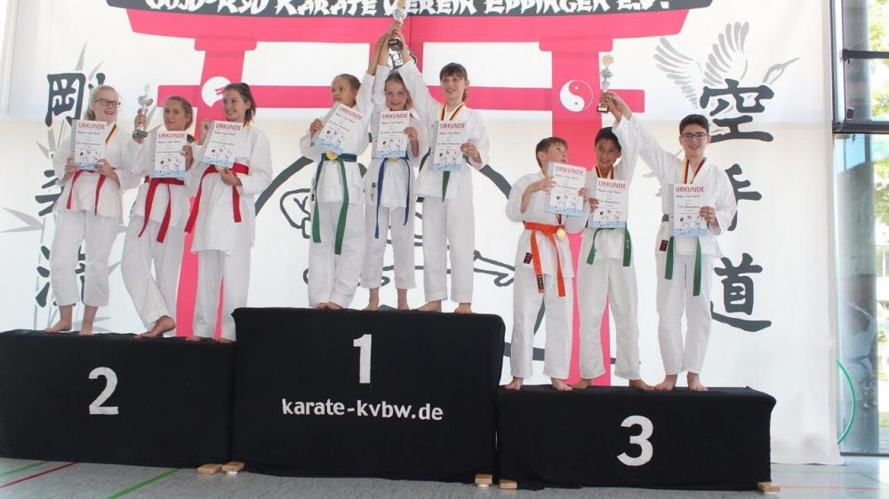 Karate Nachwuchs furios in Eppingen