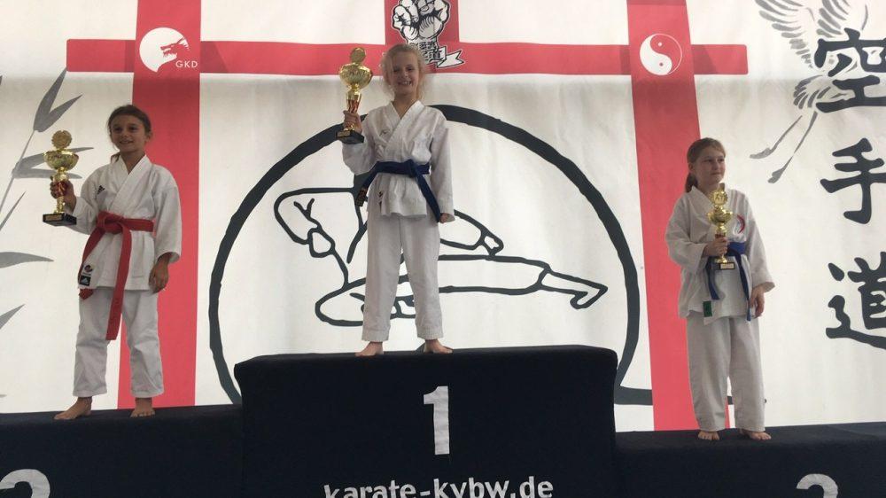 Gold, Silber und 2 x Bronze bei Landesmeisterschaft