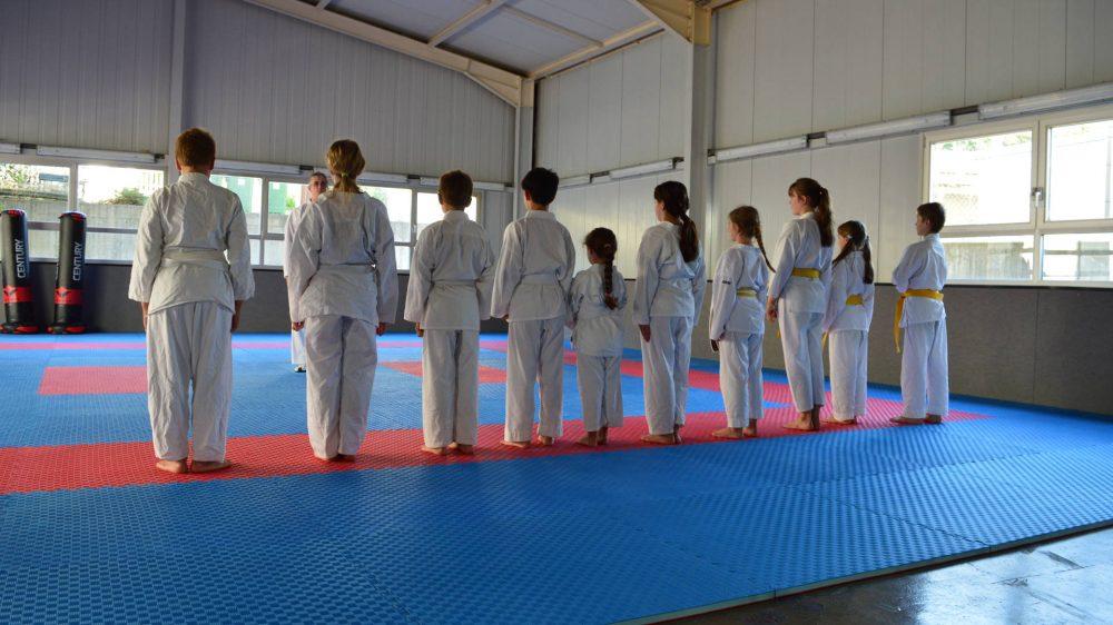 Karate an der Akademie