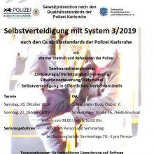 Selbstverteidigung mit System 3-2019