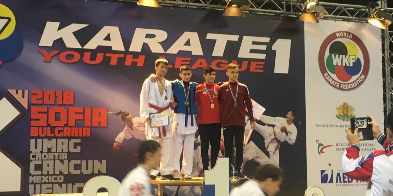WKF Karate 1 Youth League Sofia 2018