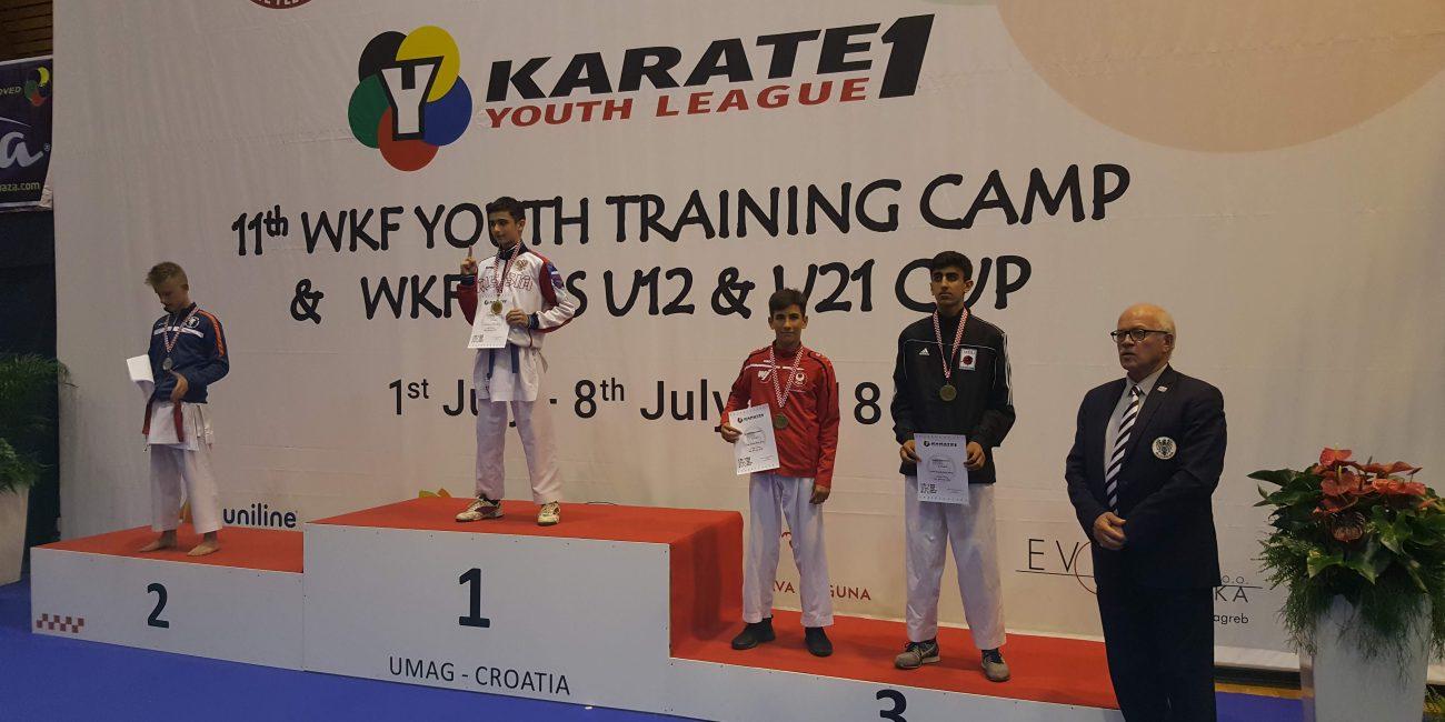 WKF Karate 1 Youth League Umag 2018